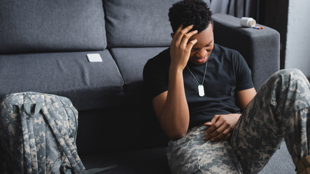 veteran with ptsd and opioid use disorder